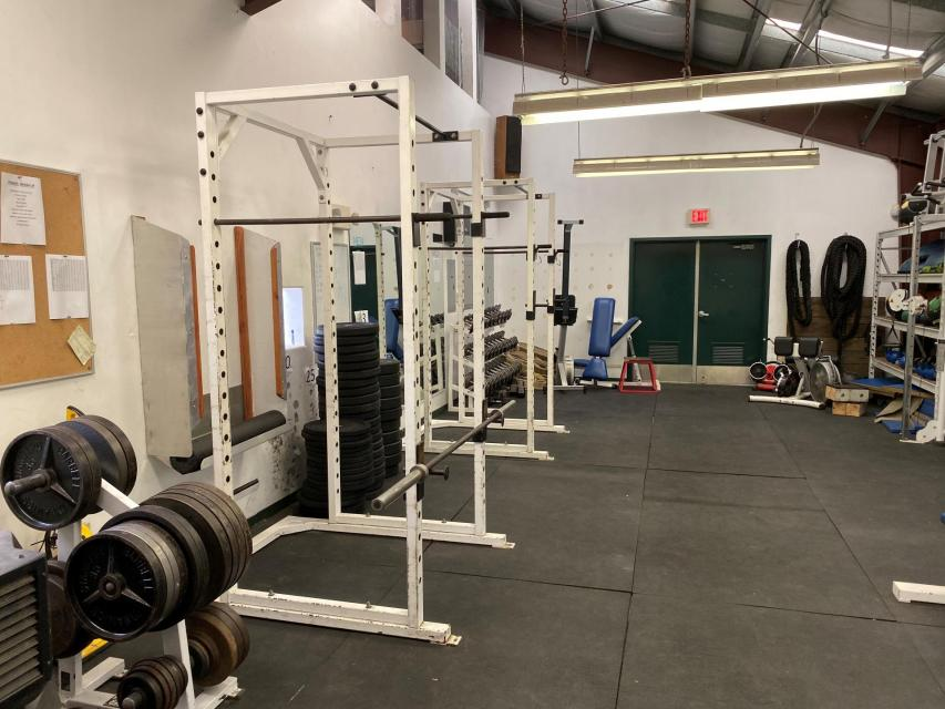 Aquatic Center weight room